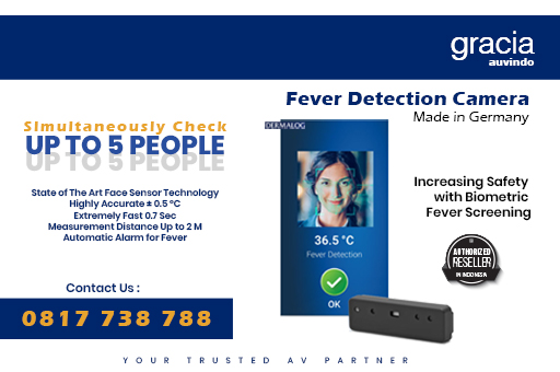 Fever Detection Camera - Contactless termperature measurement